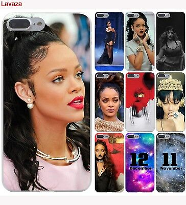 Skin Case Cover Phone Rihanna For iPhone X 8 Plus 6 6S 5S 5 4S 4 7 10 XS Max XR