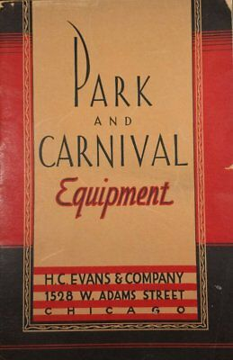 H.c. Evans Park And Carnival Equipment Crooked Gambling Catalog Cheating
