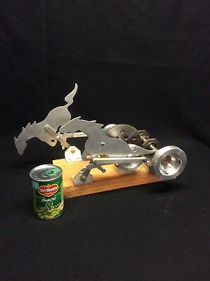 """Hit and Miss Model Engine Galloping Horse Accessory 10"""" X 16"""" Custom Built"""