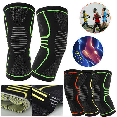 3D Weaving Knee Brace Breathable Support Running Jogging Sports Joint Pain 2018