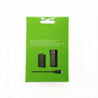 5 in 1 USB 2800mAh Battery Pack & Charging Cable Kit for Xbox One Charging Set