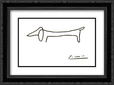 HORSE AND BUGGY Days 2x Matted 24x20 Framed Art Print by Paul ...