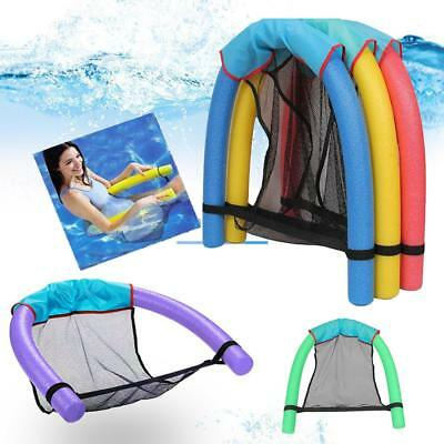 Swimming Pool Seats Amazing Bed Buoyancy Stick Noodle Float Mesh Floating Chair
