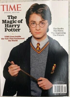 2018 TIME SPECIAL THE MAGIC OF HARRY POTTER 20 YEARS OF MAGIC life