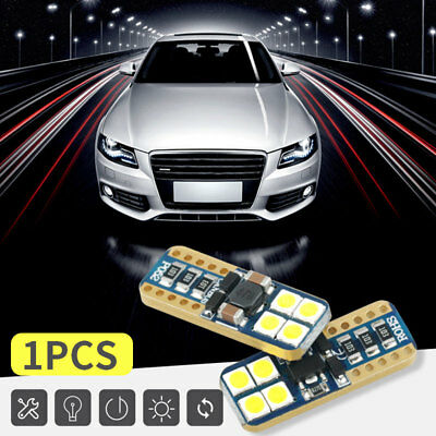 Car Width Lamp Durable T10 8smd 3030 LED 12V License Plate Lamp Signal