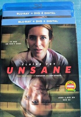 NEW Unsane Blu ray NO DIGITAL BLUERAY bluray movie Horror FREE SHIP