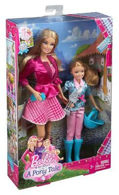 Barbie and Her Sisters in a Pony Tale and Stacie Doll, 2-Pack