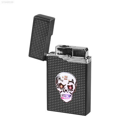 Saft Skull Pattern LED BBQ Kitchen Tool Party Decor Fire Lighters Metal