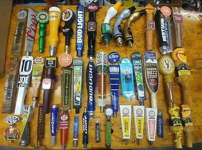 Lot Of 42 Tap Handles