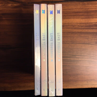 BTS LOVE YOURSELF 結 Answer Album 4SET Ver_Free standard shipping_tracking number