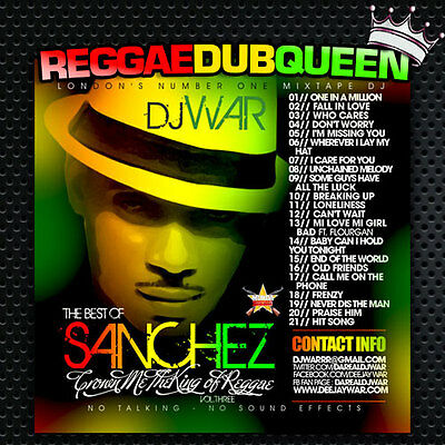 Crown Me The King Reggae 3 - Sanchez Mixtape. Reggae Mix CD.