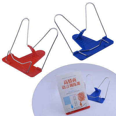 1pcs Adjustable Angle Portable Reading Stand Foldable Book Document Holder New