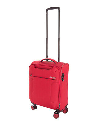 """Tosca So-Lite 3.0 18"""" Carry-On Spinner Suitcase Red"""