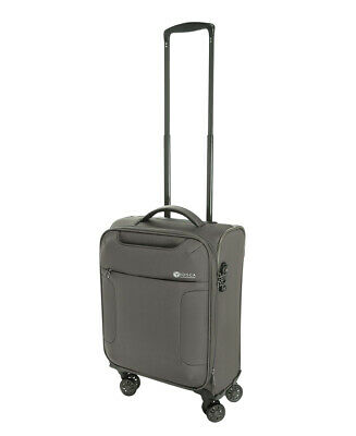 """Tosca So-Lite 3.0 18"""" Carry-On Spinner Suitcase Khaki"""