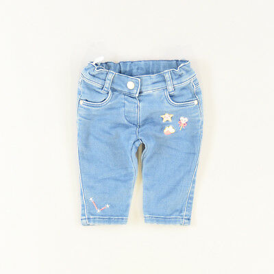 Pantalón color Denim oscuro marca Baby Club 3 Meses