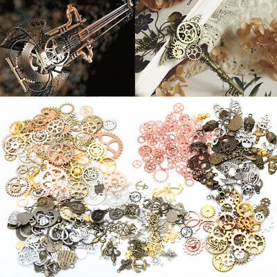 Copper/Brass Cogs & Gears Watch Parts Steampunk Jewellery Watchmaker Spares 100g