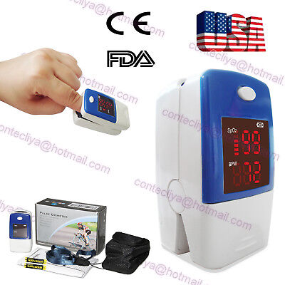 USA seller CE&FDA finger Pluse Oximeter with SPO2,PR monitor,LED display,CMS50L