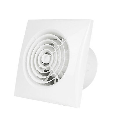 """4"""" Inline Duct Fan Booster Vent Air Extractor Ventilation System HVAC Low Noise"""
