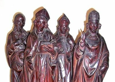 Antique Baroque Wood Carved Statue Wooden Carving Sculpture Museum Quality TREEN
