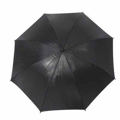 83cm 33in Studio Photo Strobe Flash Light Reflector Black Umbrella Y7U3
