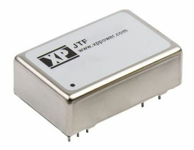 XP Power JTF 15W Isolated DC-DC Converter Through Hole, Vin 18 â?? 75 V dc, Vout