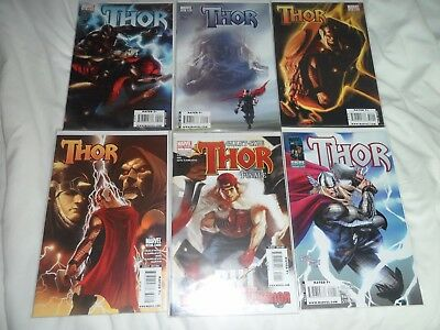 Thor 600,601,602,603,604,Giant Size 1  Marvel  Excellent Condition