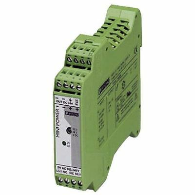 Phoenix Contact 2938756 MINI-PS-100-240AC DIN Rail Power Supply 10-15V DC 2A 30W