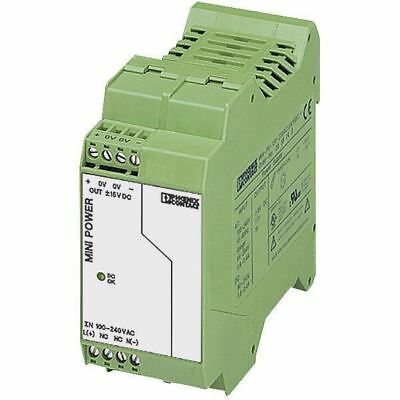 Phoenix Contact 2938743 MINI-PS-100-240AC DIN Rail Power Supply ± 15V DC 1A 15W
