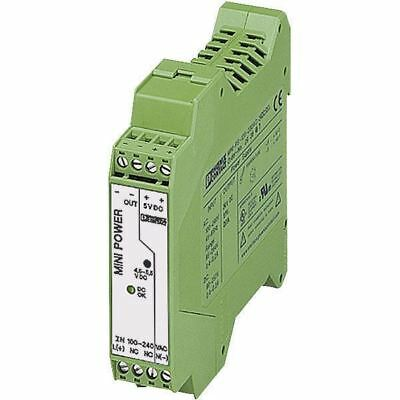 Phoenix Contact 2938714 MINI-PS-100-240AC DIN Rail Power Supply 5V DC 3A 15W