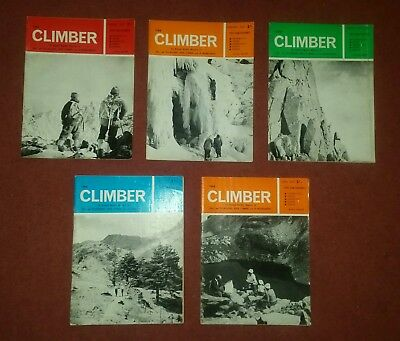 5 the climber magazine issues from 1967