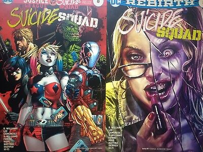 Justice League vs Suicide Squad Comic Book Collection on CD (NOT CARTOONS)