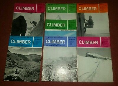 7 the climber magazines from 1966