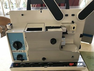 Philips Type LCB 1000 Self-Threading Portable 16mm Film Projector