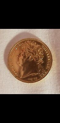 George IV 1821 gold sovereign