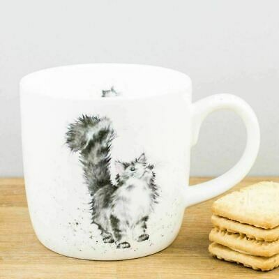 New Royal Worcester Wrendale Designs Lady of the House Cat China Mug Coffee Cup