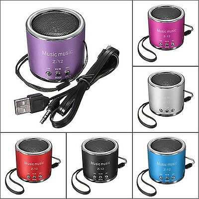mini-altavoz AMPLIFICADOR RADIO FM USB MICRO SD TF Tarjetas MP3 REPRODUCTOR