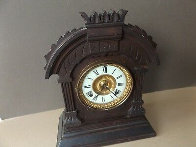 Vintage Ansonia New York Co Mantel Clock