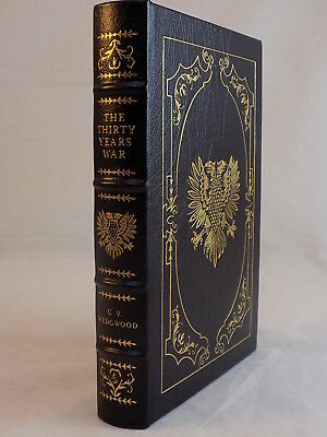 The Easton Press The Thirty Years War By C.v. Wedgwood Leather Bound Like New
