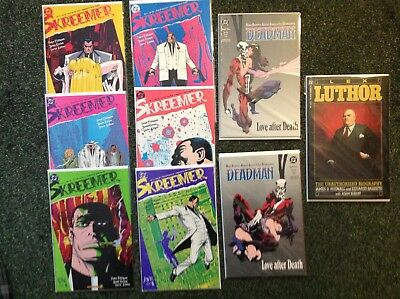 DC Comics Collection Of Mini Series From The 1980s Neil Gaiman