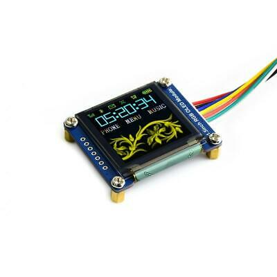 "1.5"" 128x128 OLED Display Modul, RGB, SPI Interface Arduino Raspberry Pi"