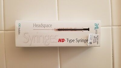 CTC CombiPal Autosampler 1.0 ml Headspace Syringes (lot of 4)