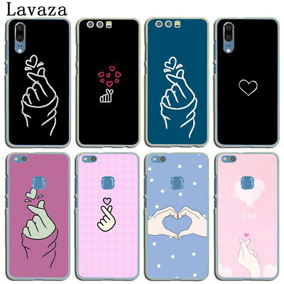 White Love Phone Cover For Huawei P20 P10 P9 P8 Lite P Smart Mate 10 Lite Pro