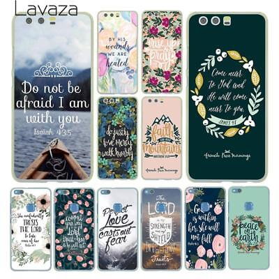 Phone Cover For Huawei P20 P10 P9 P8 Lite P Smart Mate 10 Lite Pro Bible Christ