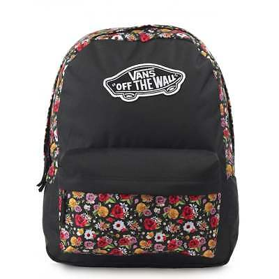 14fd4c84f1 VANS Realm Backpack - Mixed Floral Schoolbag VN0A3UI6YFD   FREE Haribo Vans  bags