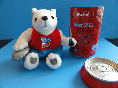 Coca Cola Discus Polar Bear And Coke Can Athens Greece Summer Olympics 2004