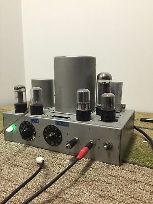 Vintage Guitar Tube Amplifier Military Oscillator Western Electric Transformers