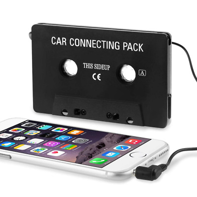 Car Audio Cassette Tape Adapter Aux Cable Cord 3.5mm Jack to MP3 iPod CD Player
