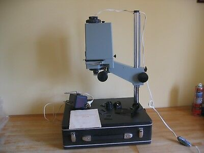 Vintage Zenith YNA 601 Photographic Enlarger Portable Suitcase Model Russia CCCP