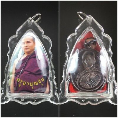 Beautiful Locket Kruba Boonchum Yannasangwalo Pendant Thai Amulet Charm