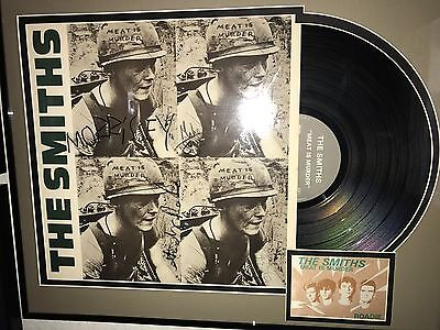 The Smiths Signed / Autographed Meat is Murder - Morrissey, Johnny Marr W/ PROOF